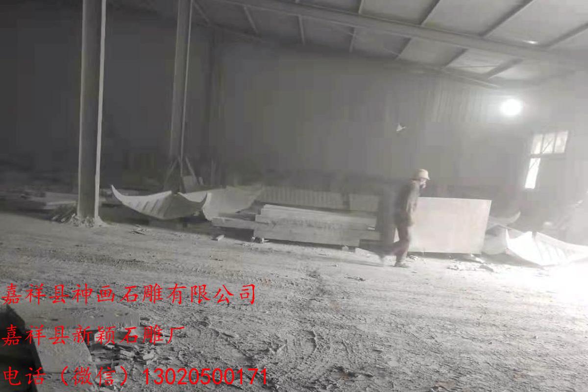 最适合安装在村口的石牌坊造型 嘉祥县神画石雕有限公司 一家自产自销的石牌坊厂家(图4)