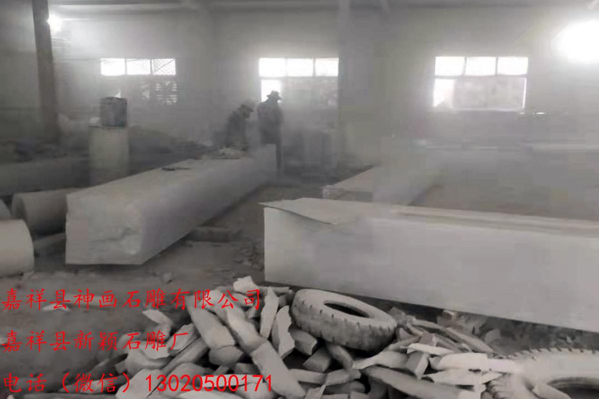 最适合安装在村口的石牌坊造型 嘉祥县神画石雕有限公司 一家自产自销的石牌坊厂家(图1)